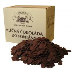 Mléčná čokoláda Carla do fontány - balení 5 kg