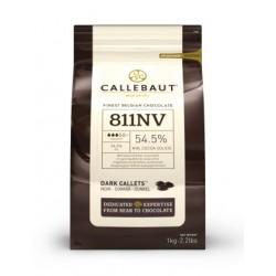 Hořká čokoláda 54,5 % Callebaut 811 - 1 kg