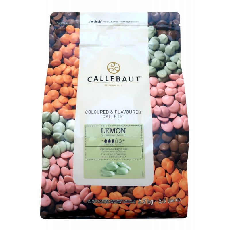 Citronová čokoláda Callebaut - balení 2,5 kg
