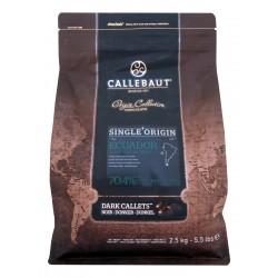 Čokoláda Callebaut - Ekvádor, balení 2,5 kg