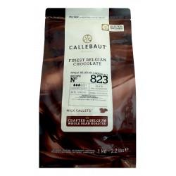 Mléčná čokoláda Callebaut 823NV - balení 1 kg