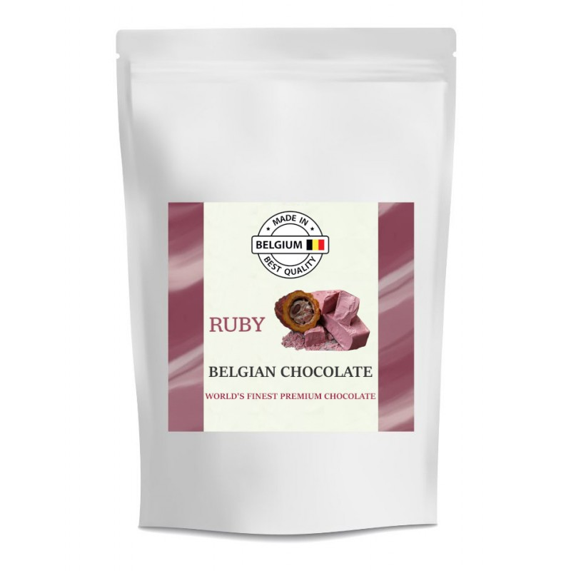 Červená čokoláda Callebaut Ruby - balení 250 g