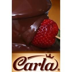 Hořká čokoláda Carla do fontány - balení 1 kg
