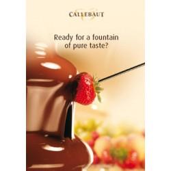 Mléčná belgická čokoláda Callebaut - balení 0,7 kg