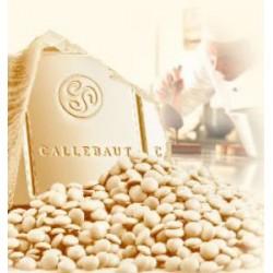 Bílá belgická čokoláda Callebaut - balení 0,7 kg