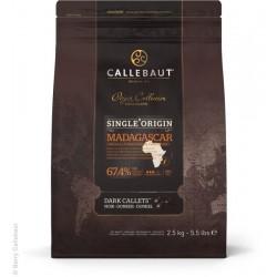Čokoláda Callebaut - Madagaskar, balení 2,5 kg